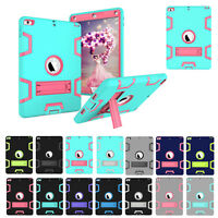 For New iPad 9.7 Inch 2017 5th Gen A1822 A1823 Heavy Duty+Hard Stand Case Cover