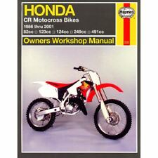 Manual Haynes for 1997 Honda CR 500 RV