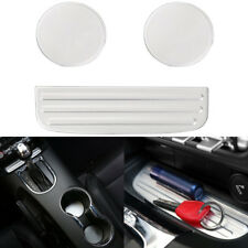 Billet Aluminum Interior Cup Mat Cushion Bottle Pad Holder Trim For Ford Mustang