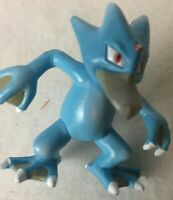 Tomy Pokemon Golduck Vintage Action Figure Blue Nintendo Toy Collectible
