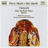 Tallis Music for Four Voices Motets CD NEW SEALED