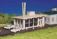 BACHMANN PLASTICVILLE USA DRIVE-IN BURGER STAND HO SCALE BUILDING KIT