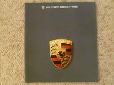 1985 Porsche Full Line 911Carrera 944 & 928S DELUXE Showroom Brochure ITALIAN
