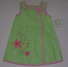 Bonnie Jean NEW girls sun dress size 2T starfish seahorse clothes pink