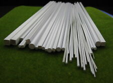 48 x Styrene ABS Round Rod, Pipes and Square Rod,Pipes #ABS00