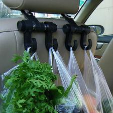 2XConvenient Car Seat Hooks Purse ShoppingBag Organizer Holder Plastic HangerM&C