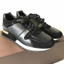 New Louis Vuitton Run Away Sneakers  , Black And Gold, Size 37,5