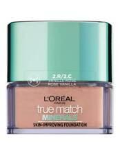 LOREAL Paris True Match minerales Fundación Rose Vainilla Maquillaje RRP £ 15