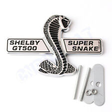 New 3D Cobra Ford Mustang Shelby GT500 Car Body Front Hood Grille Emblem Sticker