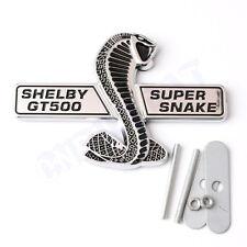 New 3D Cobra New  Shelby GT500 Car Body Front Hood Grille Emblem Sticker