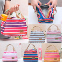 Portable Insulated Thermal Cooler Lunch Box Carry Tote Picnic Case Storage Bag N