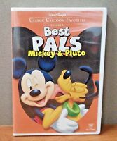 Disney:Classic Cartoon Favorites Vol 12 - Best Pals - Mickey & Pluto  DVD   NEW
