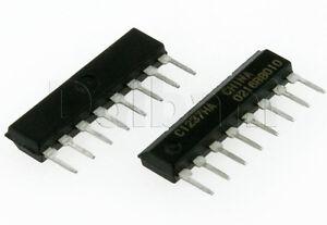 UPC1237HA Original New NEC Integrated Circuit SIP8 C1237HA