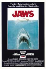 New listing Jaws Movie Poster Photo Wall Art Print 8x10 11x17 16x20 22x28 24x36 27x40 Shark