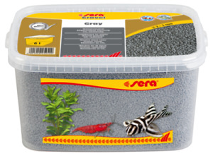 Sera Gravel Gray 6L colored gravel 2-3 mm for all freshwater and marine