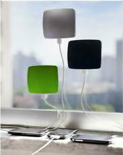 CLING BLING Window SOLAR Charger for Smartphones Gadgets white red green black