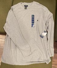 Polo Ralph Lauren Men's Gray Ultra Soft Waffle Thermal Long Sleeve Shirt 3xl
