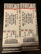 One Direction 2014 Unused Tickets (Chicago)