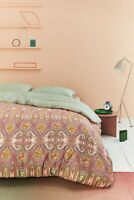 Oilily Mako Satin Bettwäsche Paisley Ovation grün 135x200 oder 155x220 cm