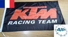 Drapeau Bannière moto KTM Racing team 90x150 CM