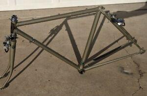 """Vintage 1980s Trek Touring Road Bicycle Bike Frame 20"""" 51cm Reynolds 531 Steel"""