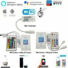 Magic Home Bluetooth Wifi RGB RGBW RGBWC LED Strip Controller Smartphone Control