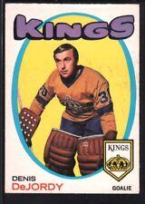DENIS DEJORDY 1971/72 O-PEE-CHEE OPC HOCKEY CARD #63 KINGS