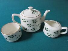 Irish Tea Set 3 Pcs Carrigaline Pottery Cover Design