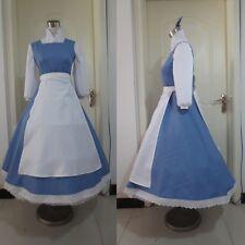 La BELLA E LA BESTIA Belle Abito Blu CONTADINA Film Disney 14 16 Costume