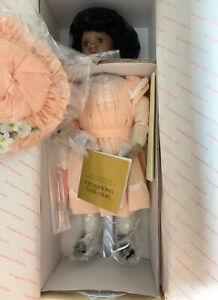 "RACHEL WILLIAMS American Diary Doll 16"" LINDA MASON Georgetown African  NIB NOS"