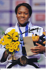 AGBEGNENOU Clarisse - FRA - Judo - Olympia 1.OS Gold 2020 Foto signiert