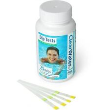 Clearwater Dip Test Strips 25 Spa Swimming Pool Hot Tub Home Chemicals Lay-z-Spa