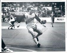 1984 Chicago Sting Indoor Soccer Player Mudfielder  Gerry Gray  Press Photo