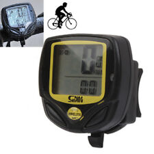 LCD WATERPROOF WIRELESS BIKE BICYCLE STOPWATCH ODOMETER SPEEDOMETER COMPUTER