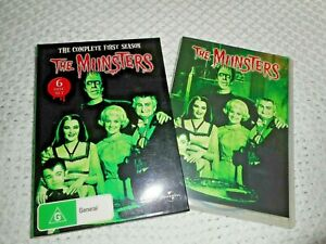 """The Munsters. """"the complete first season"""". (6 disc set)"""