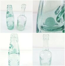 More details for old vintage antique glass bottle clear codd classic rare