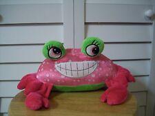 Nat'l Entertainment Network plush pink Crab