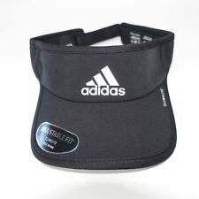298f63d419470 Mens adidas Adizero Superlite Visor Cap Black White Running Tennis Golf  Sports