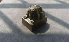 Chinese antique wood seal