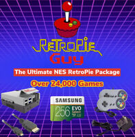 RetroPie Guy Retro Ultimate 256GB Package - Raspberry Pi 4 Console Games Cables