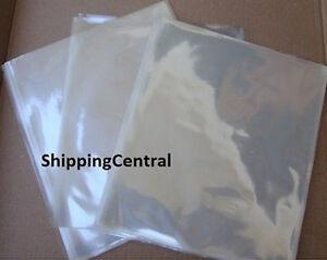 "500 SHRINK WRAP BAGS 5""x 8"" Candles / Soaps PVC 500 Pieces"