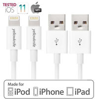 Lightning Cable 3ft/6ft/10ft, iPhone charger for iPhone X 8 7 6s Plus Apple MFI