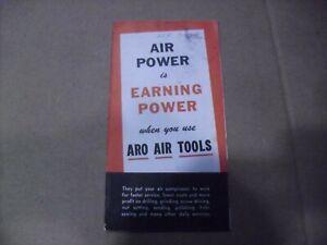 Vintage ARO Air Tool Booklet