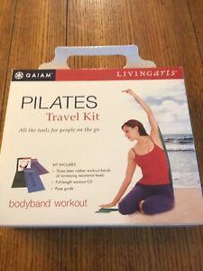GAIAM Pilates Bodyband Travel Kit Toning Sculpting Body Fitness Yoga