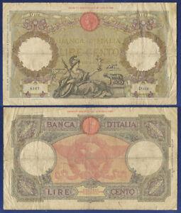 ITALY 100 LIRE 5 OCT 1931 - sreies D102