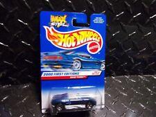 2000 Hot Wheels #80 Blue Mazda MX48 Turbo w/5 Spoke Wheels