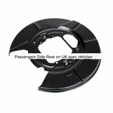 BMW E53 X5 Rear Brake Disc Protection Plate NS, Passengers Side  34216750385