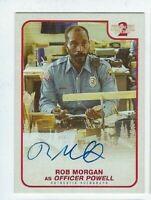 2019 Stranger Things season 2 autograph card Rob Morgan