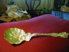 """KING EDWARD-WHITING STERLING LARGE BERRY SPOON-9 5/8"""""""