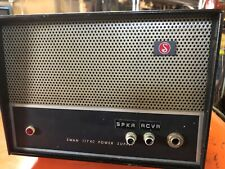 Swan 117XC Vintage Power Supply Works Good Mods In Front No Power Cord